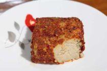 豆腐を発酵させたスィードーフは絶品