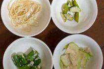 ミャンマーの野菜を塩麹で漬物にしてみた