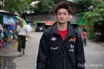 ミャンマーラウェイにかける金子大輝選手